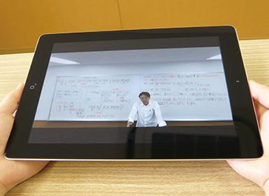iPadを使った学習支援